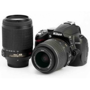 Nikon D3000 Digital SLR Camera with Nikon AF-S DX 18-55mm lens